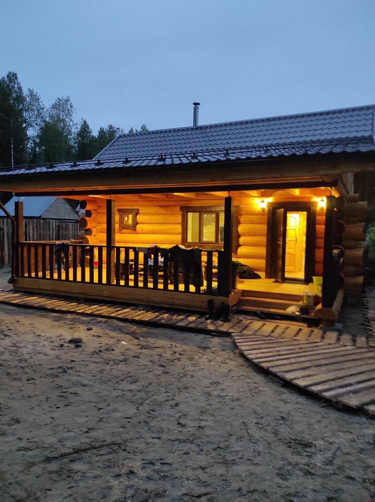 Русская баня на дровах - №6