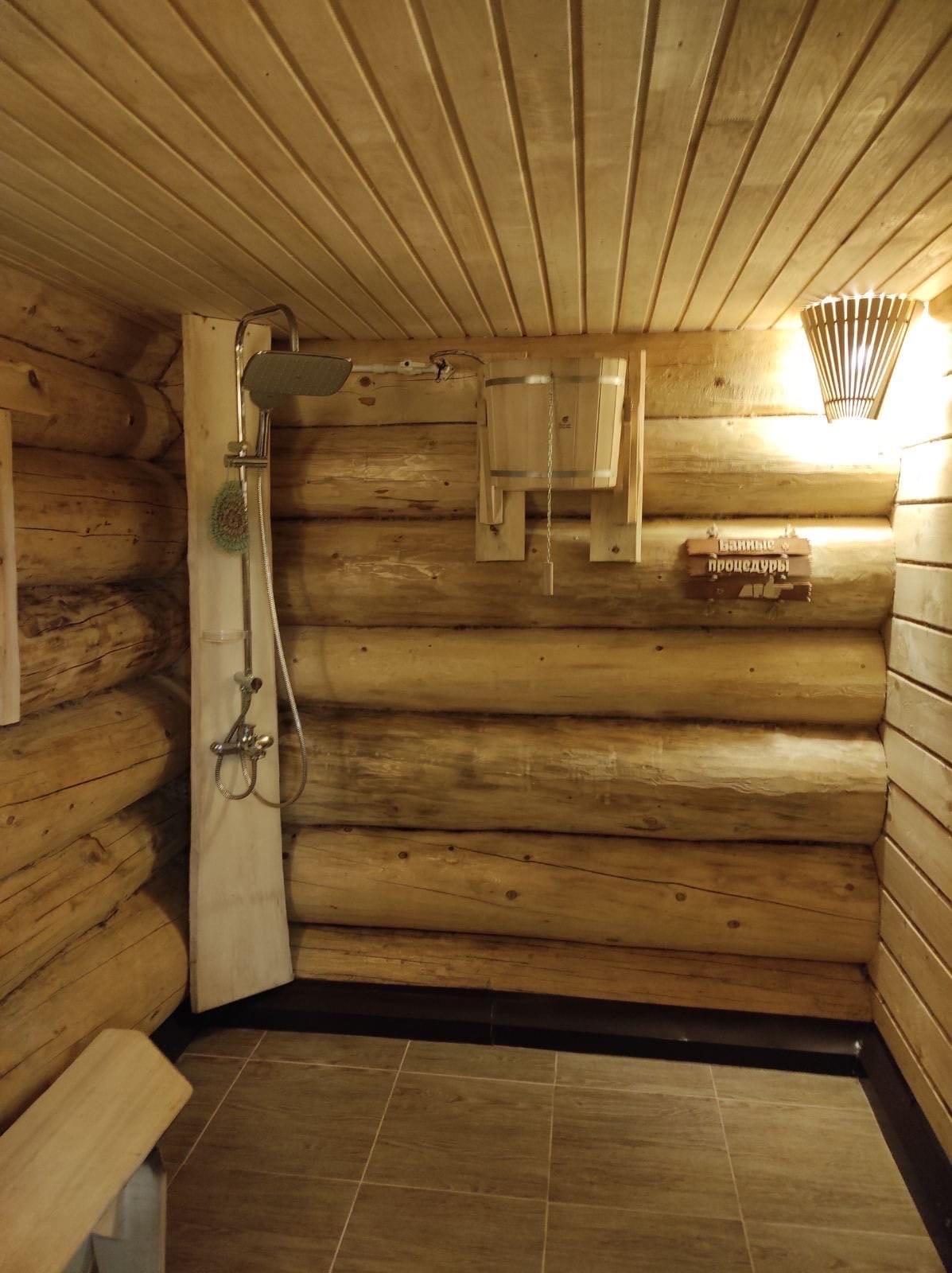 Русская баня на дровах - №2
